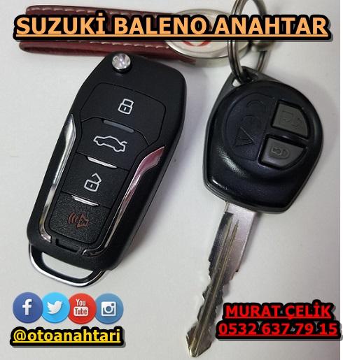 Suzuki Baleno Sustalı Anahtar