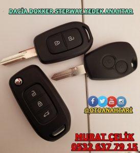 Dacia Dokker Stepway Anahtar