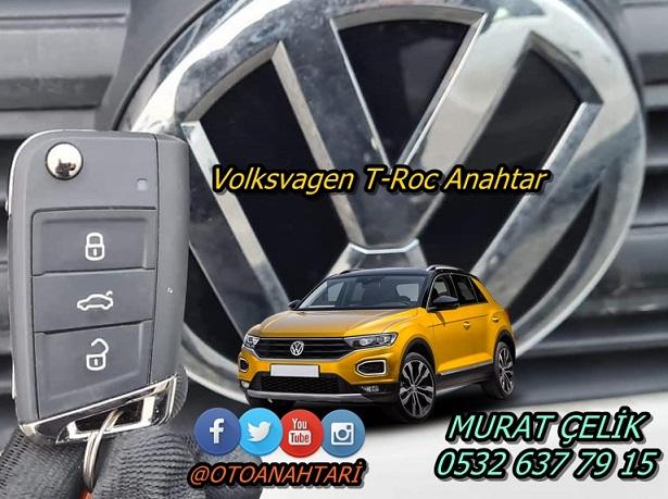 Volkswagen T-Roc Anahtar