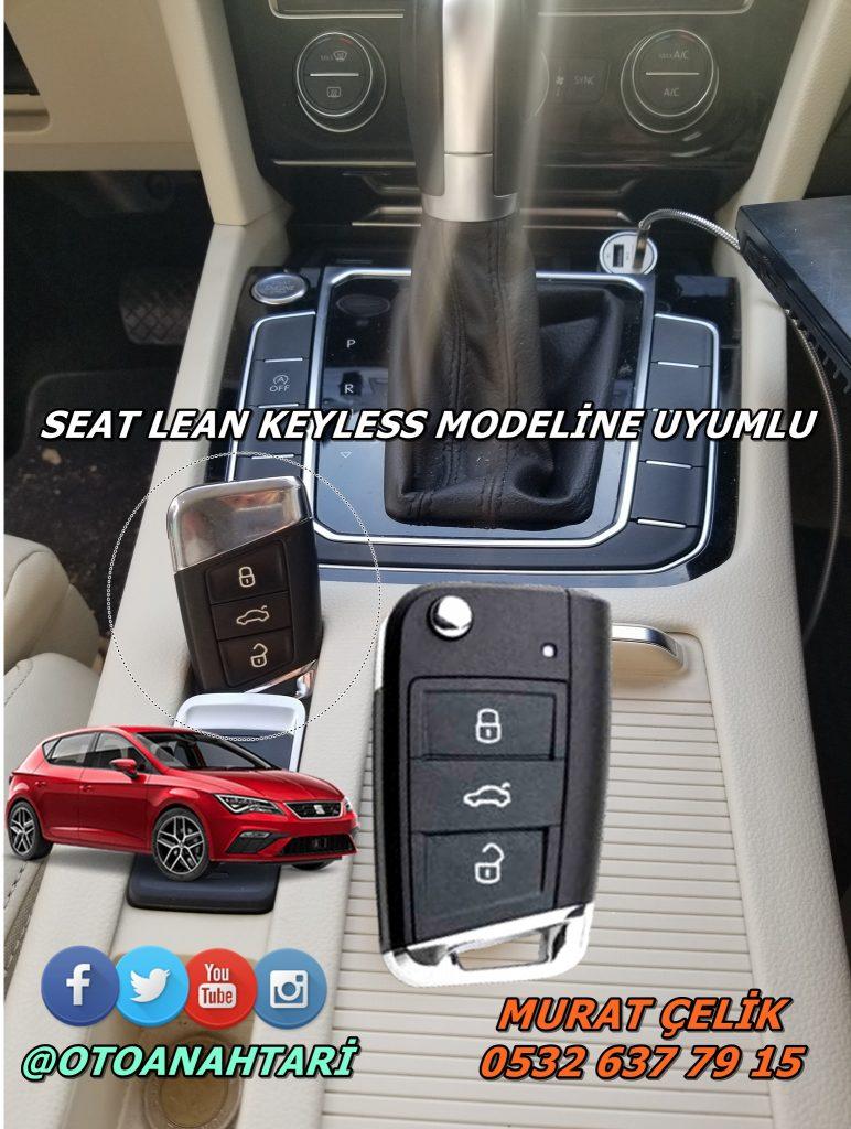 Seat Leon orjinal anahtar