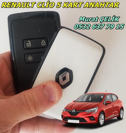 Renault Clio 5 kart kopyalama