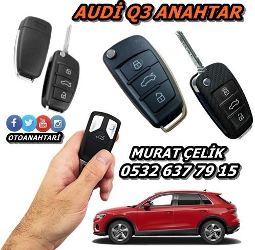 Audi Q3 anahtar