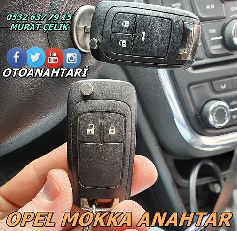 Opel Mokka yedek anahtar