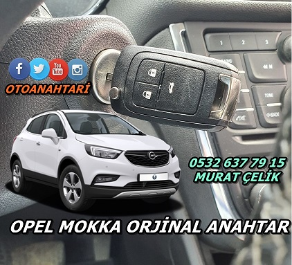 Opel Mokka Orjinal Anahtar