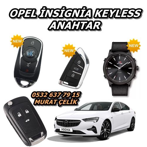 Opel insignia keyless anahtar
