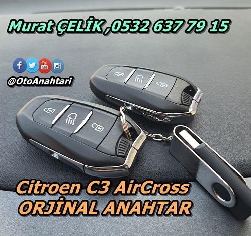Citoren C3 AirCross Smart Anahtar