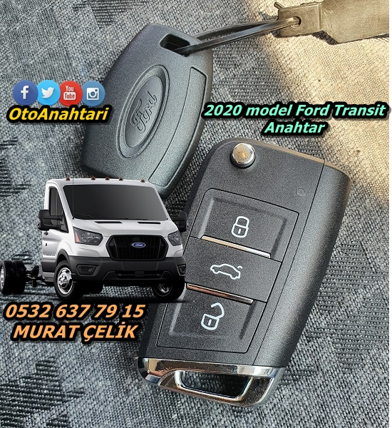 Ford Transit 2020 Anahtar